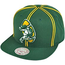 Green Bay Packers Throwback Vintage Logo Double Soutache Snapback Hat
