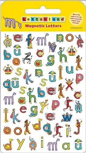 amazon new magnetic letters letterland lyn wendon children s