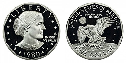 1980 S Susan B. Anthony Proof Dollar Dollar Perfect Uncirculated US ()