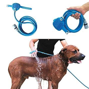 Perros Rociador de Ducha Suministros para perros Perro mascota ...