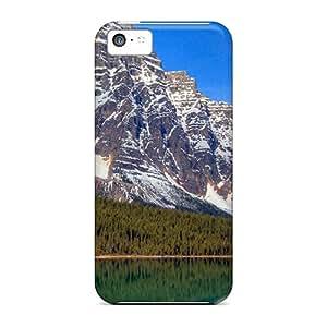 Pretty Iphone 5c Case Cover/ Mount Chephren Series High Quality Case