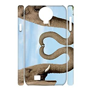 Iphone 5C Elephant 3D Art Print Design Phone Back Case Customized Hard Shell Protection DF079367