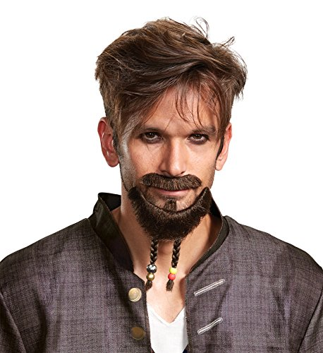 Pirates of the Caribbean Goatee Kit Costume