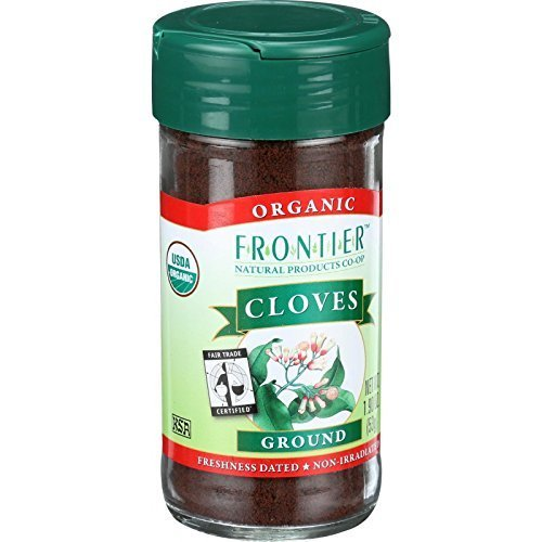 Frontier Natural Products Cloves, Og, Ground, Ft, 1.90-Ounce ( Multi-Pack)