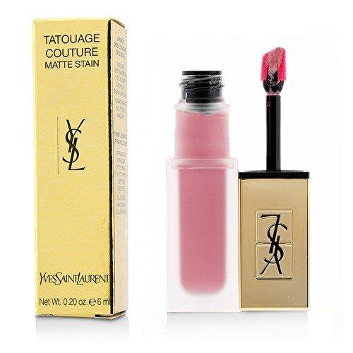 Couture Lipstick Rose (YSL Tatouage Couture Matte Stain Liquid Lipstick - Rose Illicite No. 11)