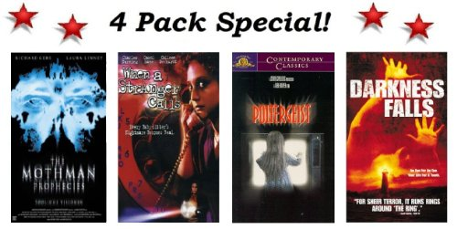 4 Pack Movie Special! The Mothman Prophecies (Richard Gere & Laura Linney), When A Stranger Calls (1979 Version), Poltergeist & Darkness Falls