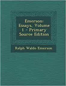 ralph waldo emerson essays google books Book digitized by google from the library of harvard university and uploaded to the internet archive essays by ralph waldo emerson http://booksgooglecom.