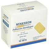 "McKesson 16-4816 Medi-Pak Adhesive Strip, Performance Fabric, 2"" X 3"" (Pack of 50)"