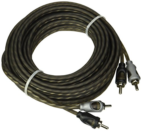 Rockford Fosgate Twisted Pair 20-Feet Signal Cable (Audio Signal Cable)