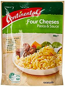 Continental Four Cheeses Pasta & Sauce  Side Dish 100g