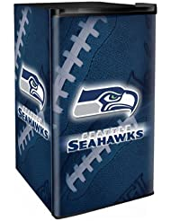 Seattle Seahawks 3.2 Cubic Foot Counter Height Fridge