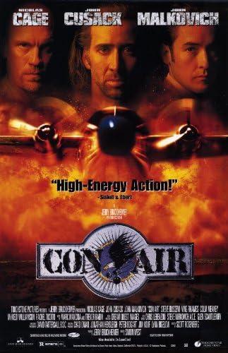 Amazon Com Pop Culture Graphics Con Air Poster Movie 11x17 Nicolas Cage John Malkovich John Cusack Mykelti Williamson Prints Posters Prints