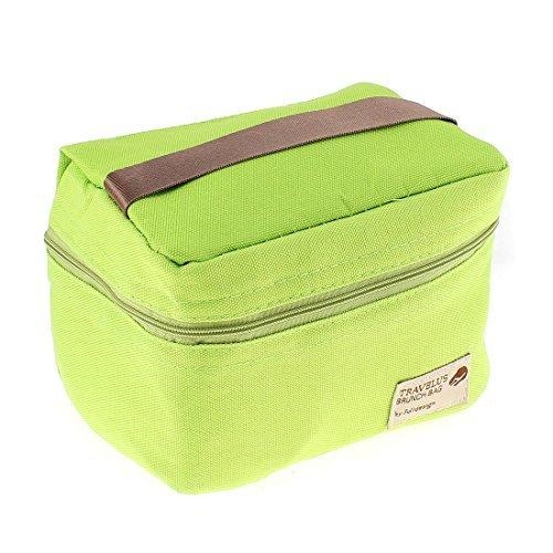 EbuyChX Thermal Insulated Travel Tote Picnic Bag Tanghalian Storage Box Green