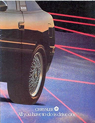 1991 Plymouth Laser RS Turbo Brochure Canada