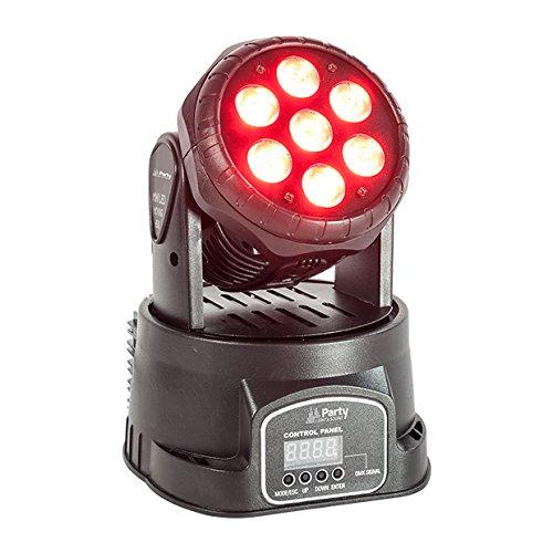 Party WASH7 - Cabeza móvil LED Party Light & Sound PARTY-WASH7