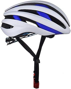 ZMYLOVE Casco para Ciclismo, Casco Inteligente para Bicicleta Bluetooth Casco de Bicicleta Ajustable con certificación CE con Casco para Auriculares para Deportes al Aire Libre Scooter BMX Ciclismo,B: Amazon.es: Deportes y aire