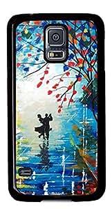 Beautiful Dancing DIY Hard Shell Black Best Fashion Samsung Galaxy S5 I9600 Case