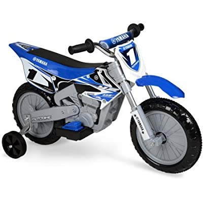 Yamaha 6-Volt Motorcycle Ride On, Blue: Toys & Games