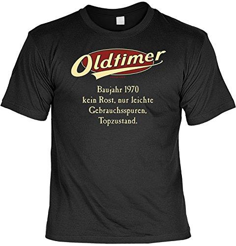 TShirt Oldtimer Baujahr 1970 Lustiges Sprüche Shirt als Geschenk zum 47  Geburtstag
