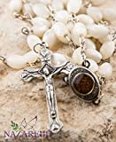 Nazareth Store Mother of Pearl Catholic Rosary