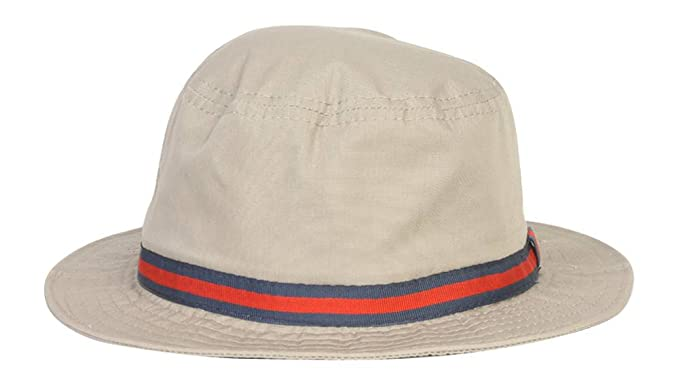 9ede2c955 Dorfman Pacific Men's British Tan Bucket Hat