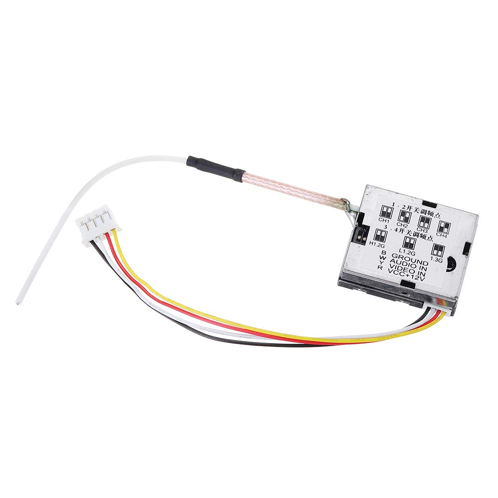 Partom 1.2G 12CH 200mW Wireless FPV Transmitter with Fox-R02 12CH FPV Receiver Combo for RC Drone by Generic (Image #2)