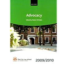 Advocacy 2009-2010: 2009 Edition