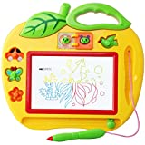 Mini Magna Doodle Toys with Stamps for 4 Year Old Boys and Girls,Magnetic Drawing Board Games,Sketch Writing Board for Kids & Children Age 5 - 10