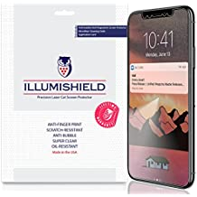iPhone X Screen Protector [3-Pack], iLLumiShield Screen Protector for iPhone X Clear HD Shield with Anti-Bubble & Anti-Fingerprint Film