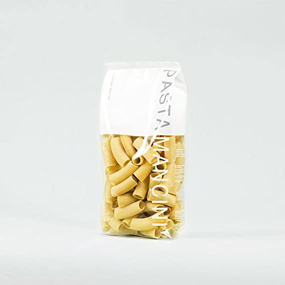 Pasta Mancini - Rigatoni gr 500 - Package In Envelope Transparent