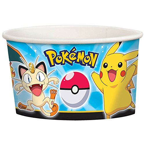 Pokemon Pikachu and Friends Treat Cups 8 Count