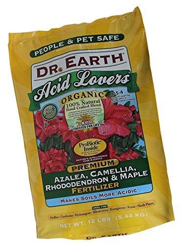 Dr. Earth 710 Organic 4 Azalea/Camellia/Rhododendron Fertilizer, 12-Pound -