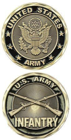 (US Army Infantry Challenge Coin)