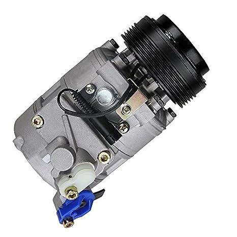 1x Compresor de aire acondicionado BMW 3 E46 320,323,325,328,330 1998-05 + CABRIOLET E46 DESDE 2000 + COMPACT E46 2001-05 + COUPE E46 DESDE 1999 + TOURING ...