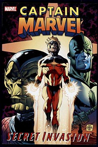 Captain Marvel Secret Invasion Trade Paperback TPB Graphic Novel Marvel Comics