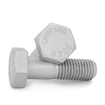 PT Unytite USA 3//4-10 X 4-3//4 A325 Type 1 Heavy Hex Structural Bolt Coarse Plain Finish