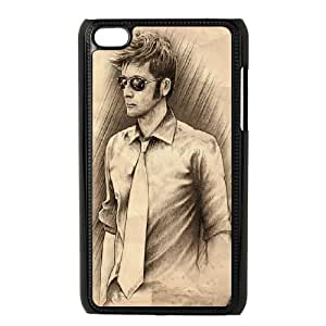 iPod Touch 4 Case Black 10th Doctor Who JSK912459