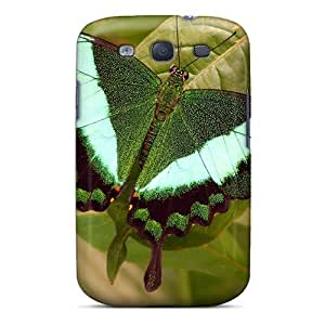 High Quality Mobile Case For Samsung Galaxy S3 With Custom Realistic Butterfly Series JasonPelletier