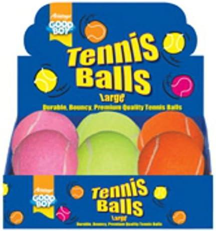 good Boy pelotas de tenis grande, diseño de perros grande/4.75 Pack de 6: Amazon.es: Productos para mascotas