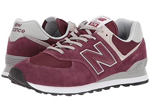 [new balance(ニューバランス)] メンズランニングシューズ?スニーカー?靴 ML574v2 Burgundy/Burgundy 8 (26cm) D - Medium