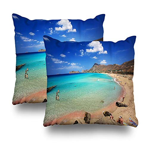 (Soopat Decorative Throw Pillow Cover Square Cushion 18