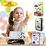 Smart IQ Mind Puzzle Games - Logic Brain Teasers Stem Learning Therapy Educational Travel Toys for Kids Adults