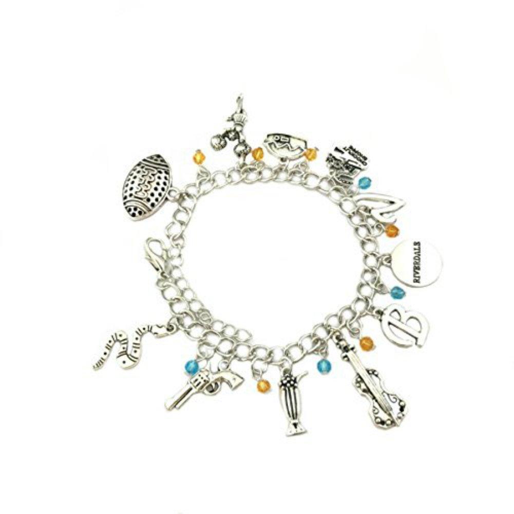 US FAMILY Riverdale Netflix TV Series Theme Multi Charms Jewelry Bracelets Charm by Family Brands