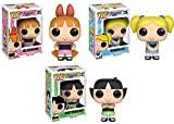 Funko POP! Powerpuff Girls: Blossom + Bubbles + Buttercup - Stylized Cartoon Vinyl Figure Set NEW
