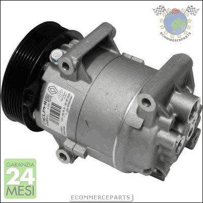 BJR Compresor Aire Acondicionado SIDAT Renault Megane II diese: Amazon.es: Coche y moto