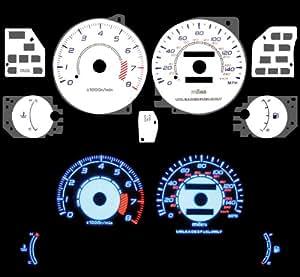 95 96 97 98 99 00 Dodge Avenger L4 2.0L White Glow Gauges