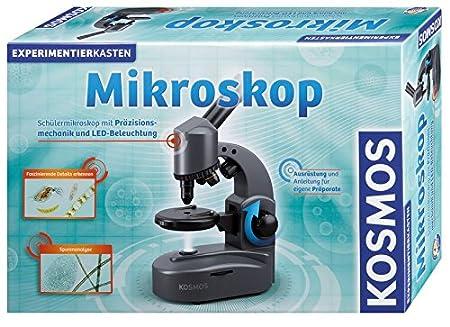 Kosmos 635602 mikroskop experimentierkasten: amazon.de: spielzeug