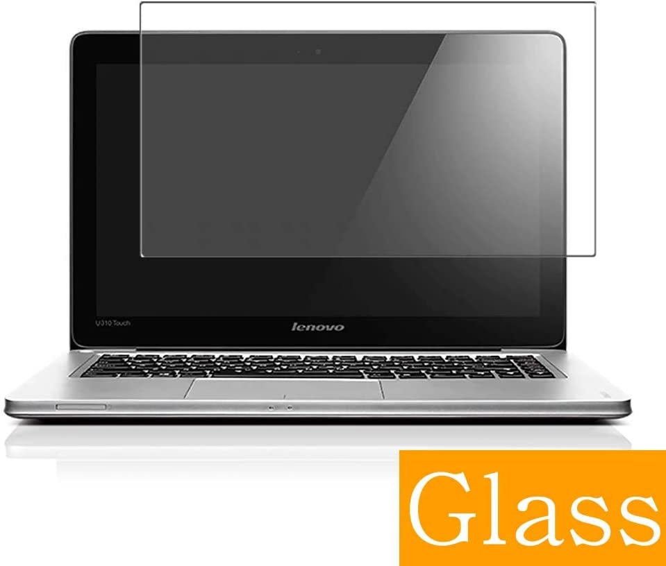 """Synvy Tempered Glass Screen Protector for Lenovo Ideapad U310 Touch 13.3"""" Visible Area Protective Screen Film Protectors 9H Anti-Scratch Bubble Free"""