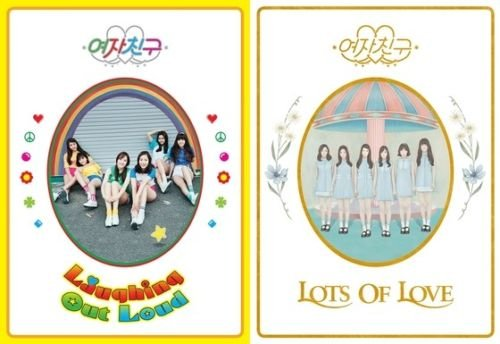 GFRIEND [LOL] 1st Album Random Ver CD+Photobook+Letter+Paper Doll+Photocard+Postcard+Sticker+Tracking Number