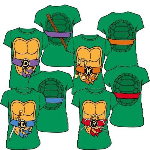 8e925d8d0 Teenage Mutant Ninja Turtles Women's T-shirt with Eye Mask - Buy ...